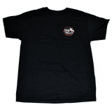 Dirty Whoore Men's Black T with She Devil Red logo