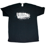 Dirty Whooore Men's Black T with Crawling Lady Logo