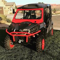 CANAM COMMANDER FRONT WINDSHIELD
