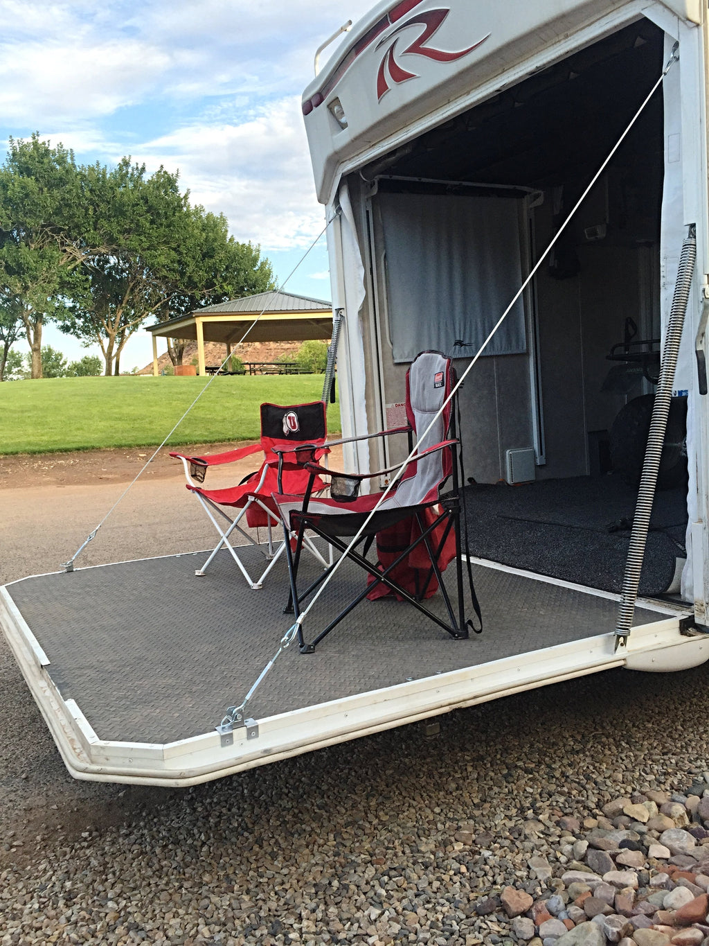 RV TOY HAULER PATIO CONVERSION CABLE KIT