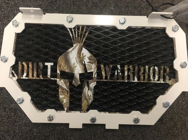 POLARIS RZR DIRT WARRIOR GRILL