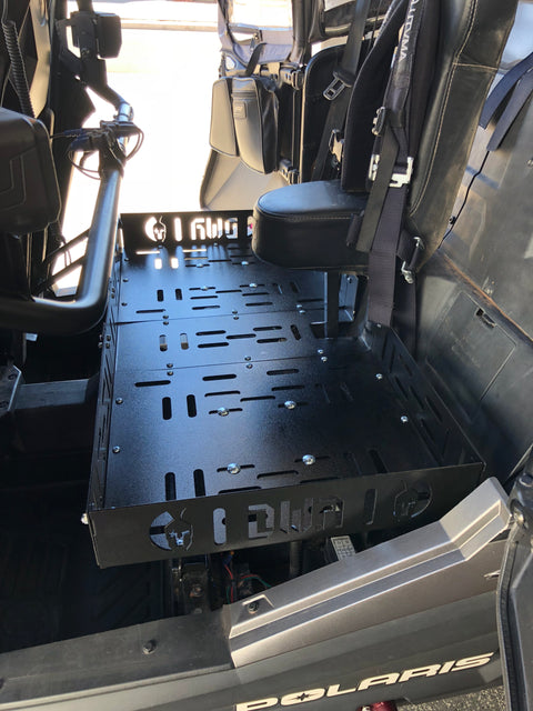 RZR Rear Seat Mounted Cargo Rack
