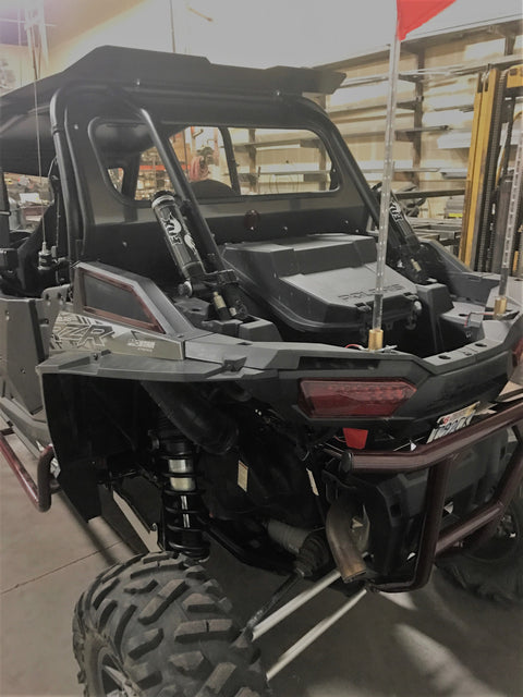 POLARIS RZR 1000 2014-18 REAR WINDSHIELD