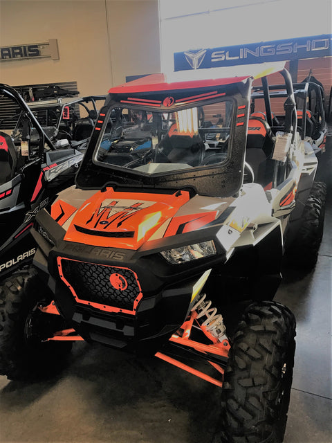 POLARIS RZR FRONT WINDSHIELD