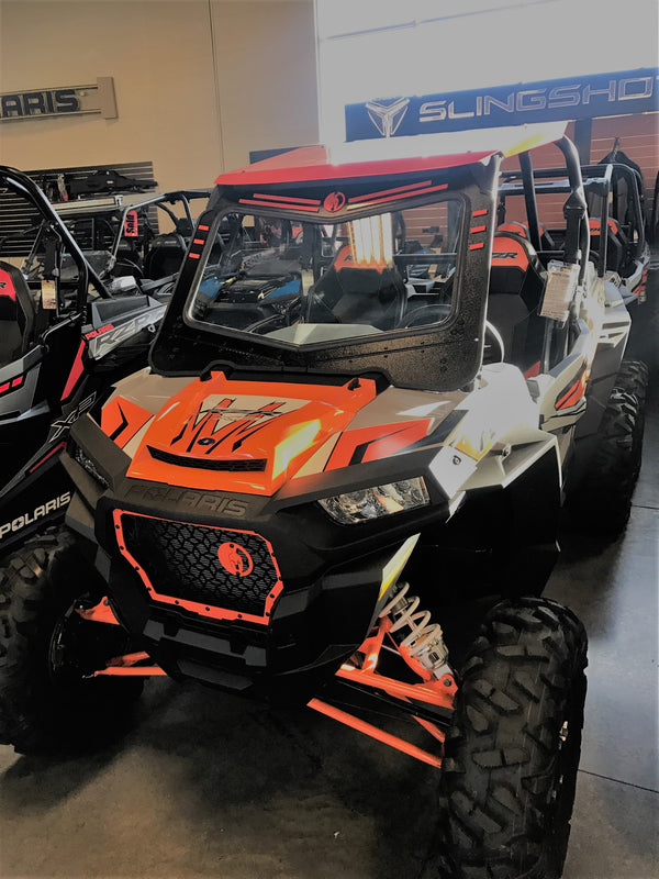 POLARIS RZR 1000 2014-18 FRONT WINDSHIELD