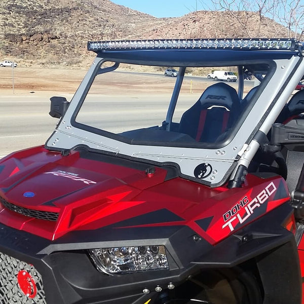 POLARIS RZR FRONT WINDSHIELD TO FIT VENT RACING CAGE