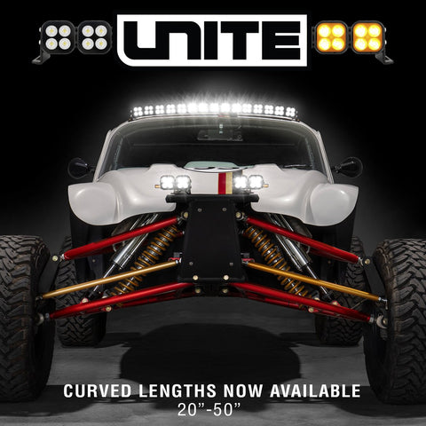 UNITE LED Light Bar With Curved Rails 20""