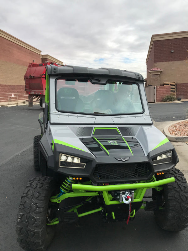 TEXTRON HAVOC X FRONT WINDSHIELD 2018-19