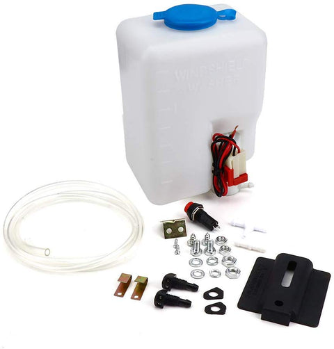 UTV Car Windshield Washer Pump Reservoir Kit