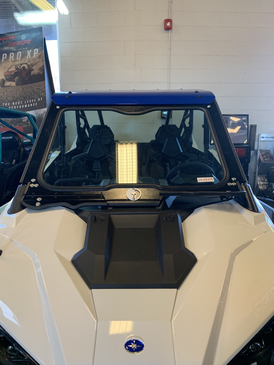 Polaris RZR PRO XP Front Glass Windshield 2019 & up