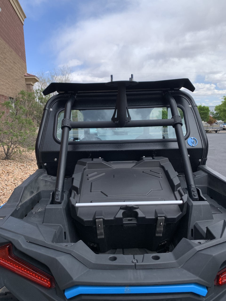 POLARIS RZR 1000XP/TURBO/900 2019+ REAR WINDSHIELD