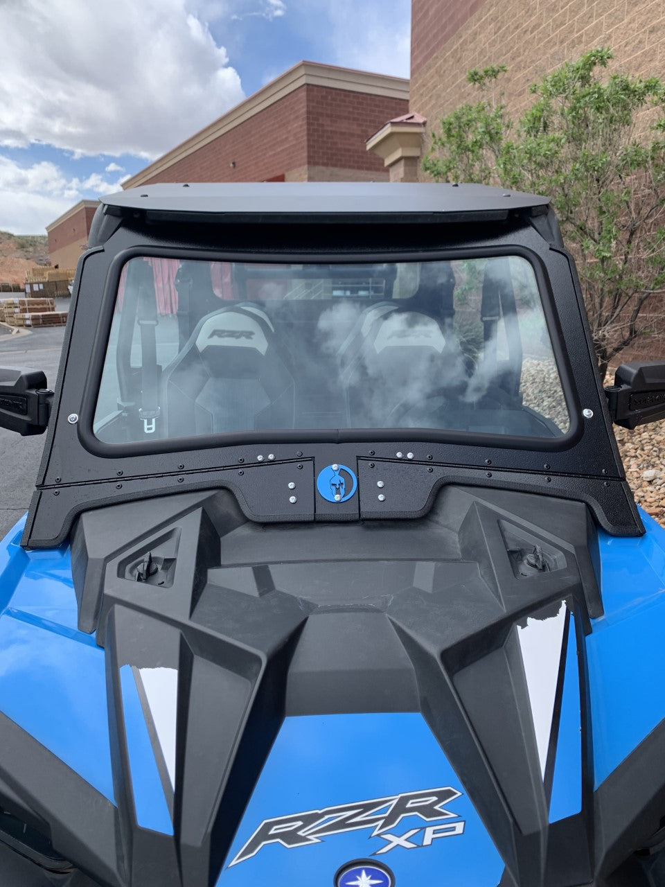 POLARIS RZR 1000XP/TURBO 2019+ FRONT WINDSHIELD