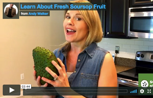 VIDEO: Learn about soursop fruit
