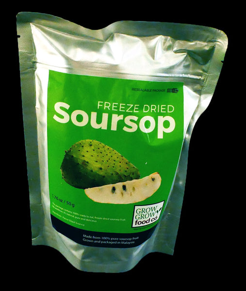 Freeze Dried Soursop and Strawberry Combo Packs