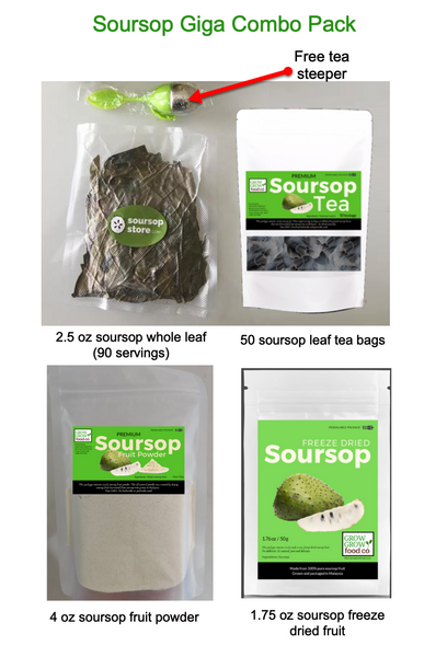 soursop product combo pack