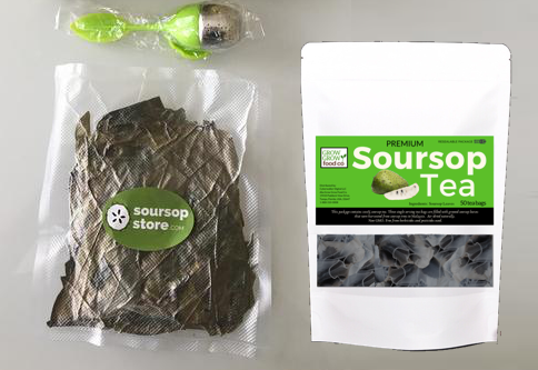soursop tea combo pack