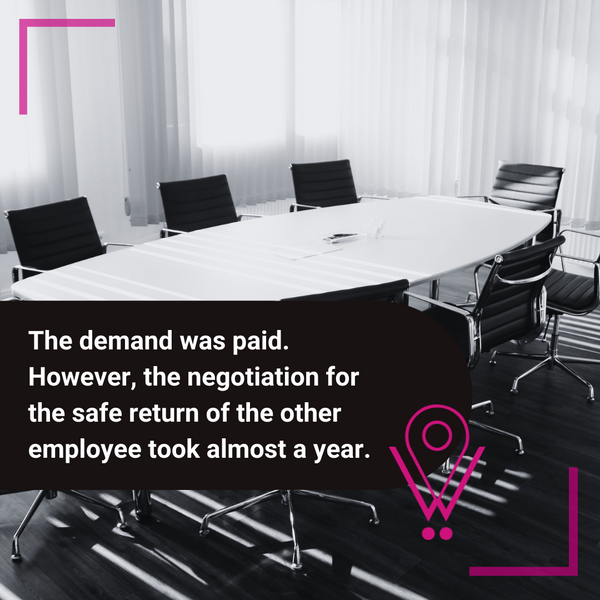 Negotiation took a year and the demand was paid