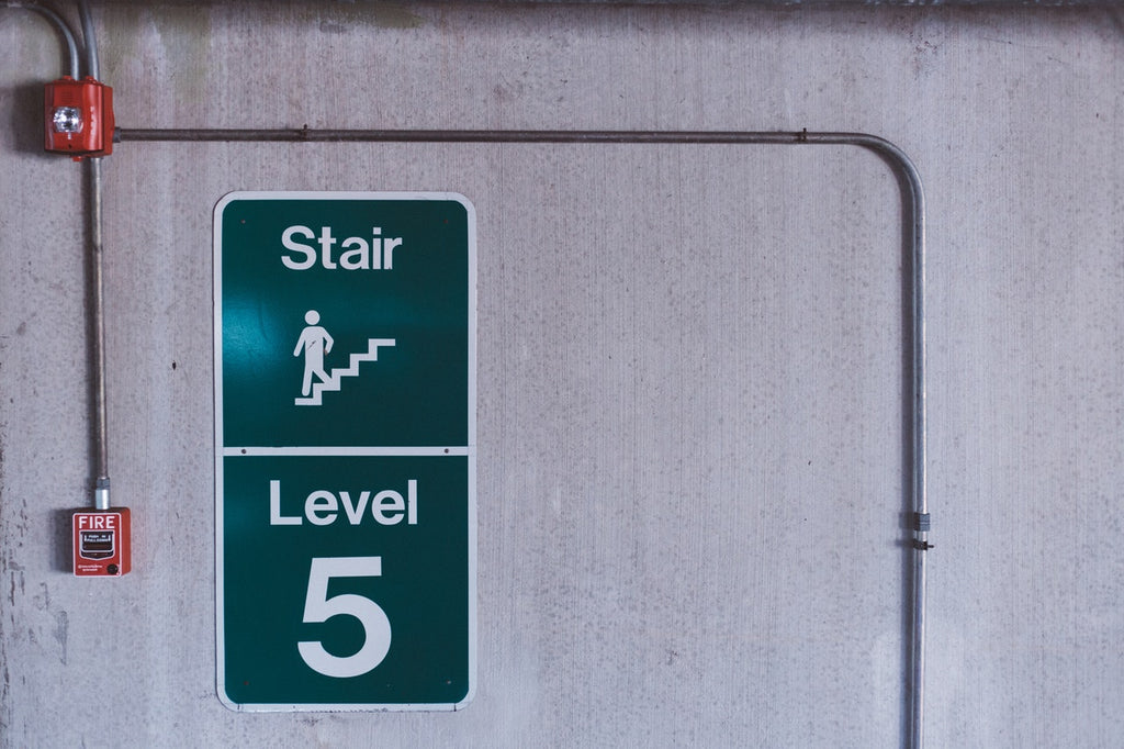 When developing an emergency plan for fire management at work, there must be enough exit routes for safety and quick evacuation.