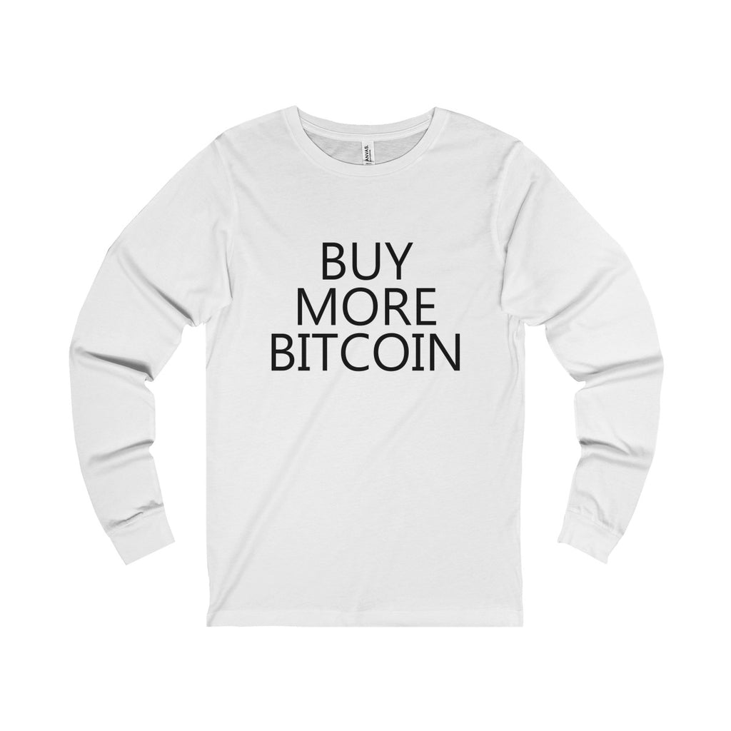 Buy More Bitcoin Long Sleeve Tee