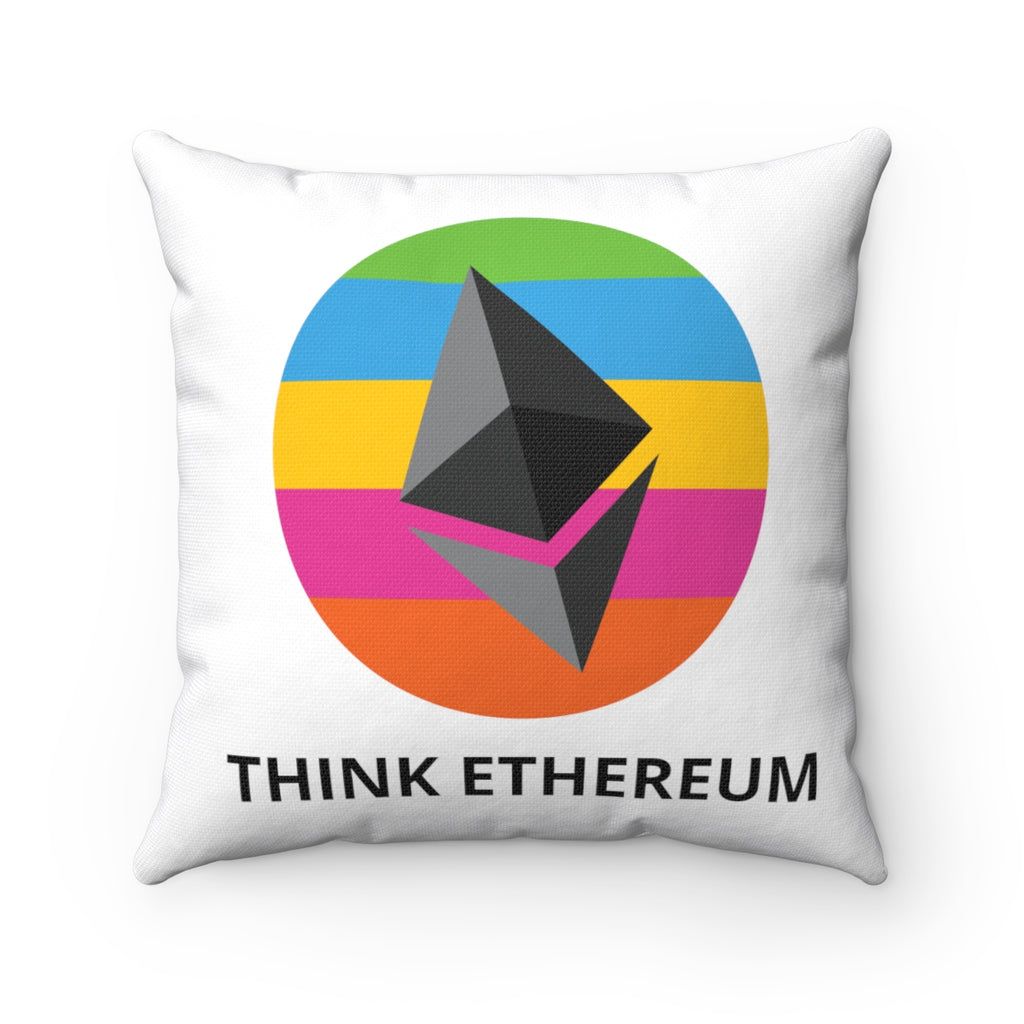 Think Ethereum Pillow