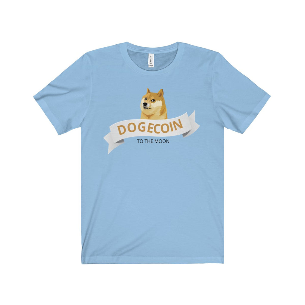Dogecoin To The Moon Tee
