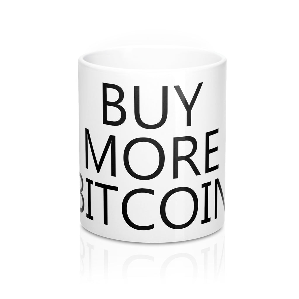 Buy More Bitcoin Mug 11oz