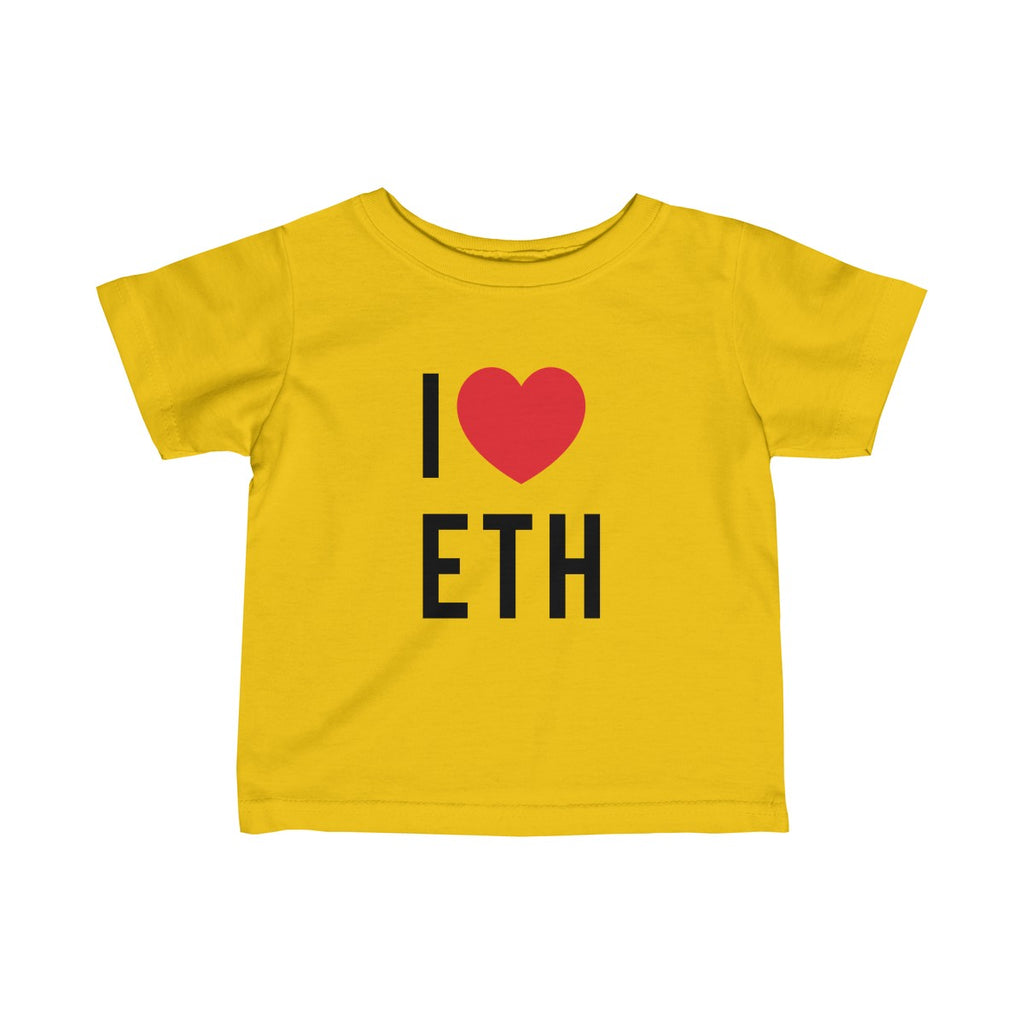 I Love ETH Infant Tee
