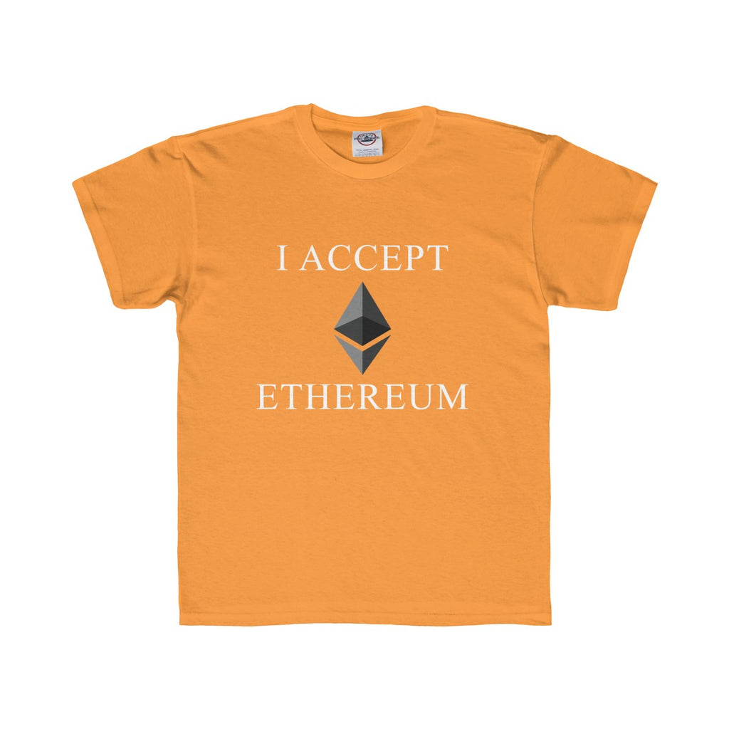 I Accept Ethereum Youth Tee