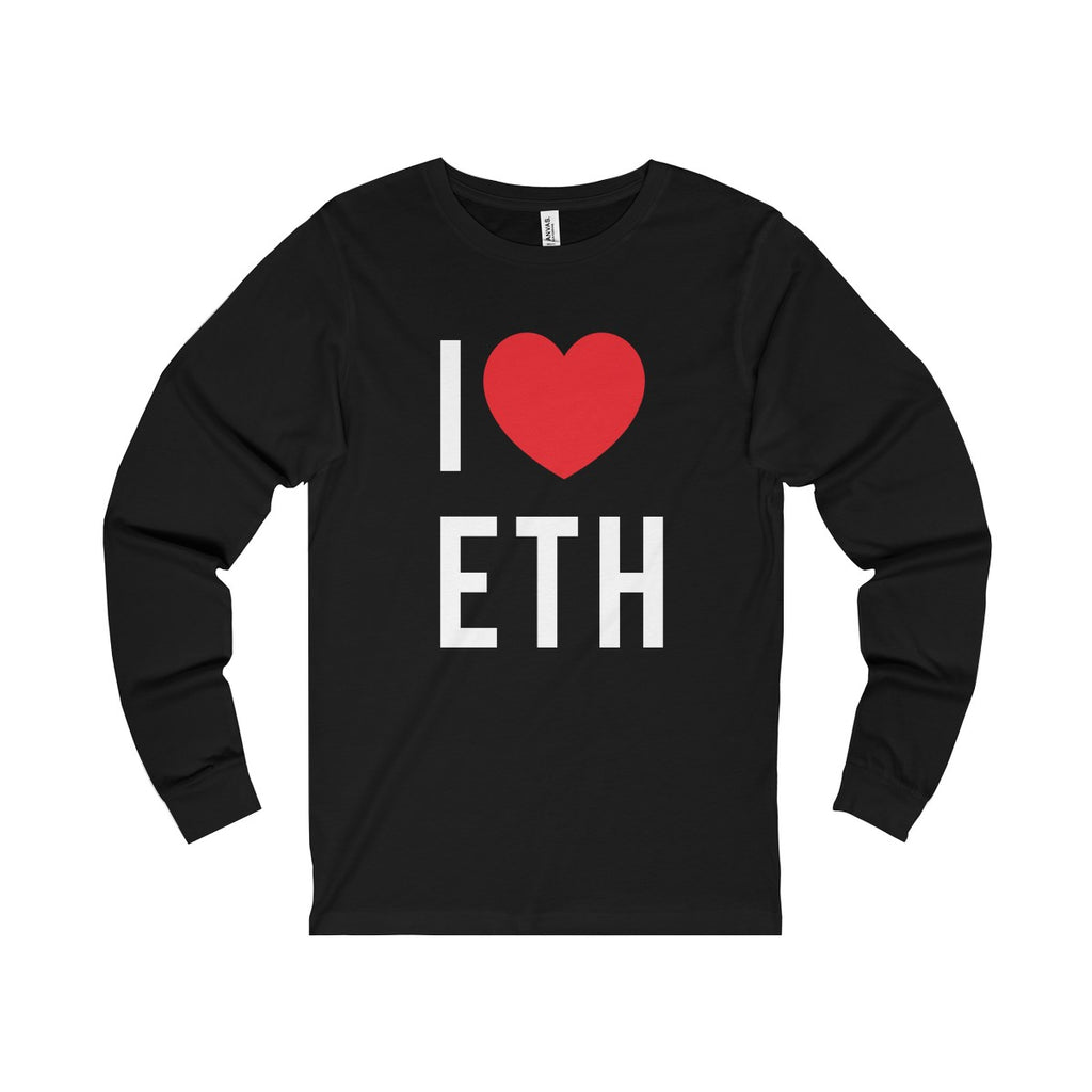 I Love ETH Long Sleeve Tee