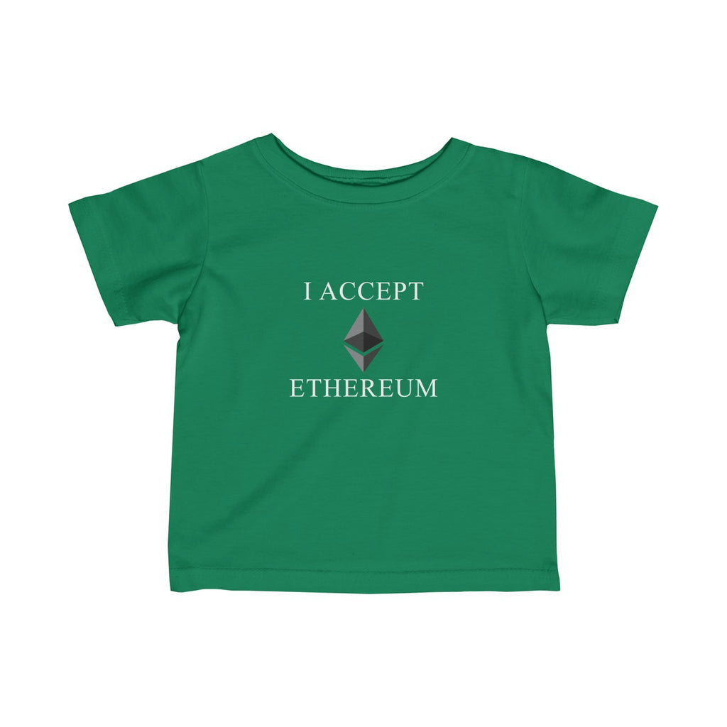 I Accept Ethereum Infant Tee
