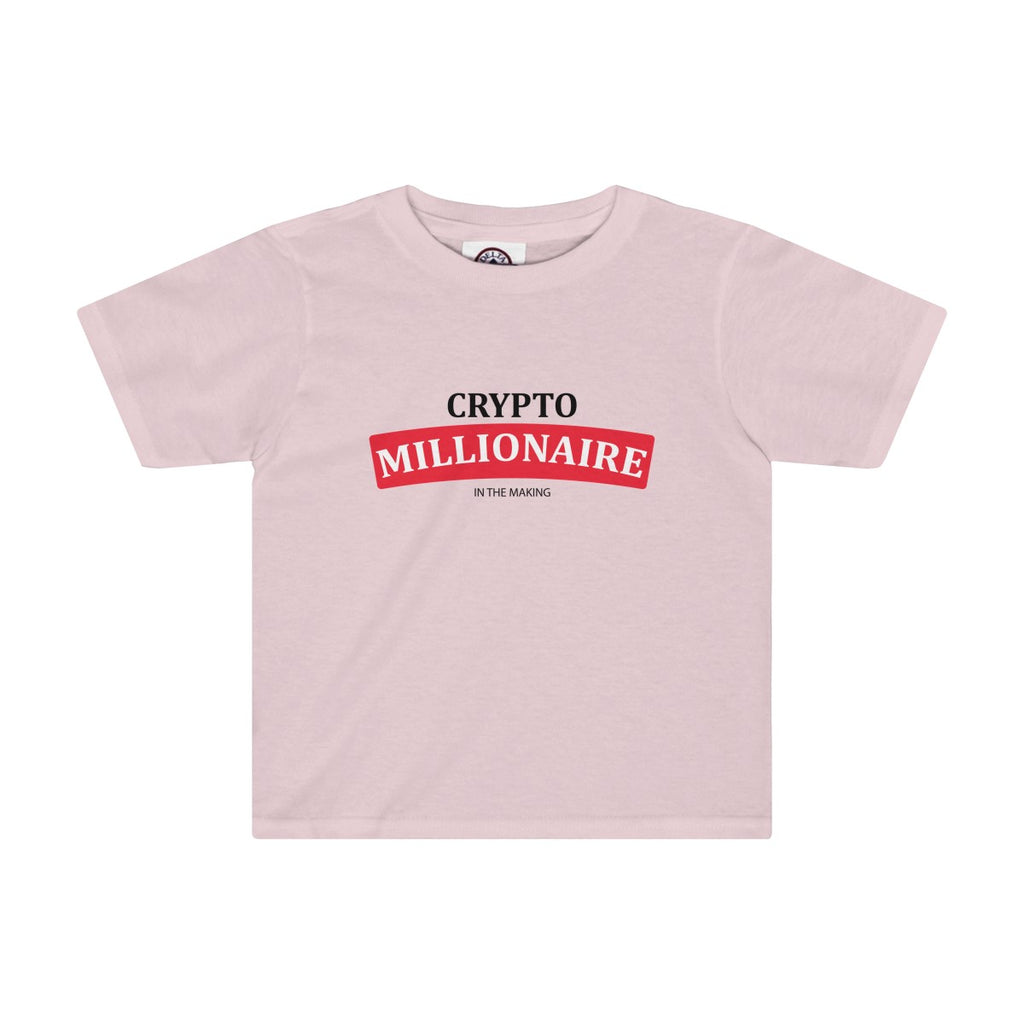 Crytpo Millionaire In The Making Toddler Tee