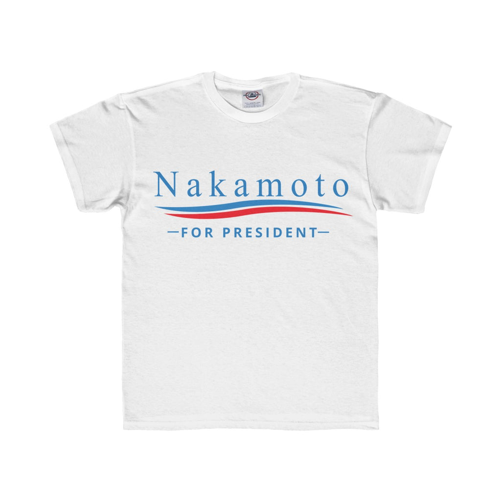 Nakamoto For President Youth  Tee