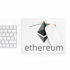 Ethereum To The Moon Mousepad