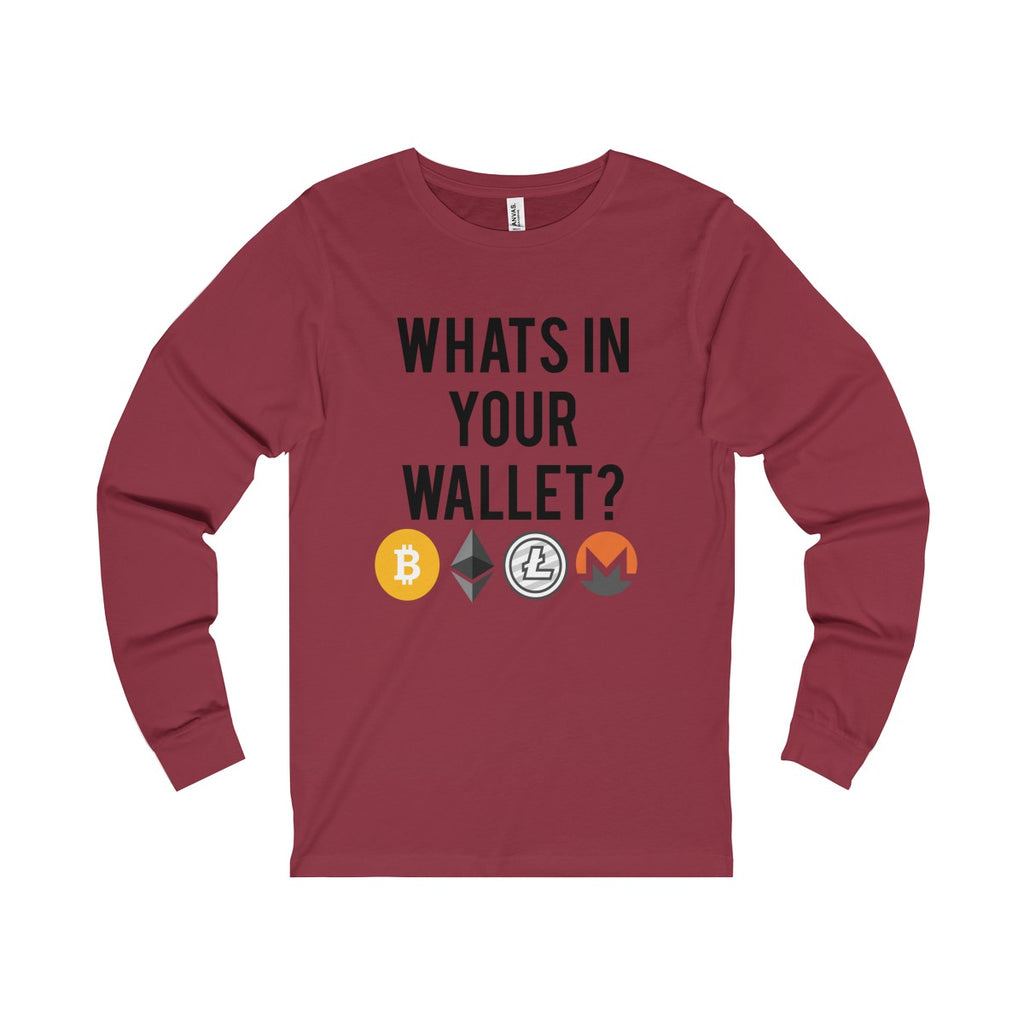 What's In Your Wallet Long Sleeve Tee