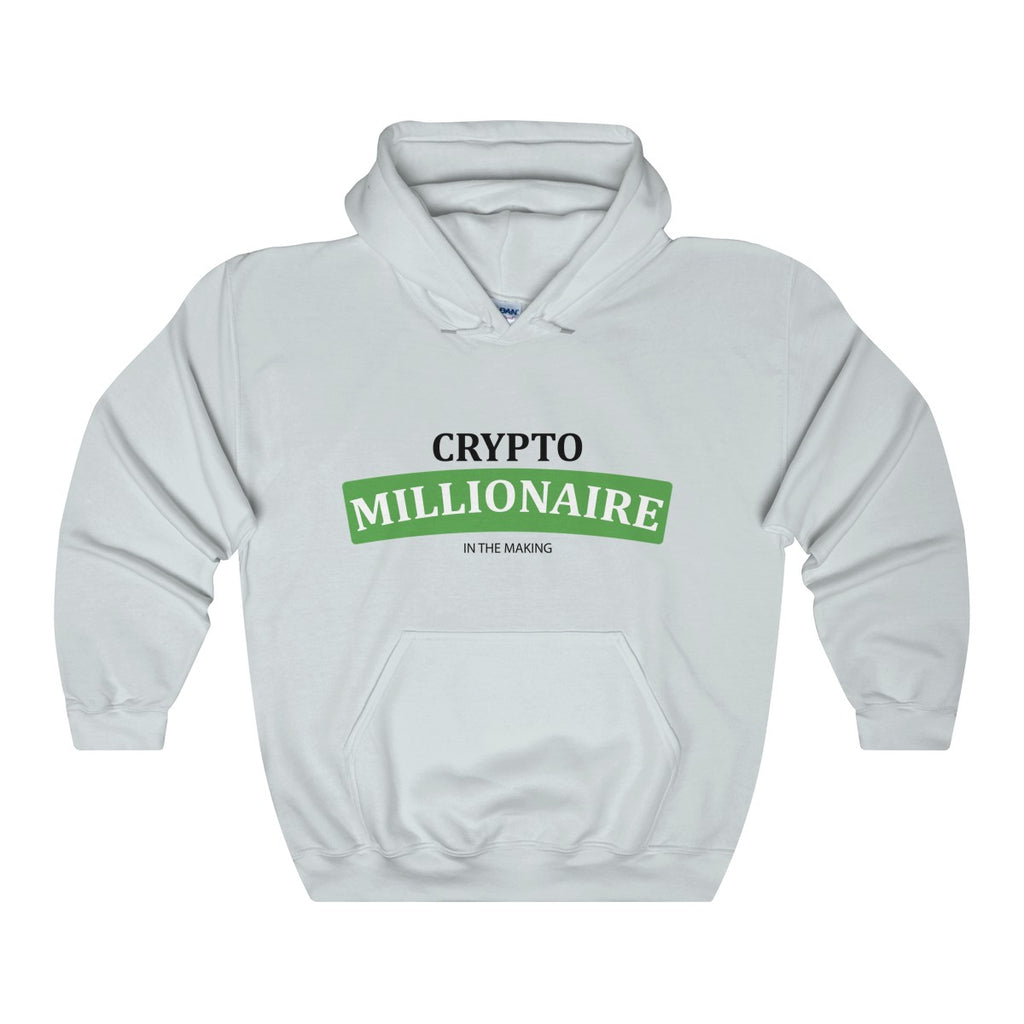 Crytpo Millionaire In The Making Hooded Sweatshirt