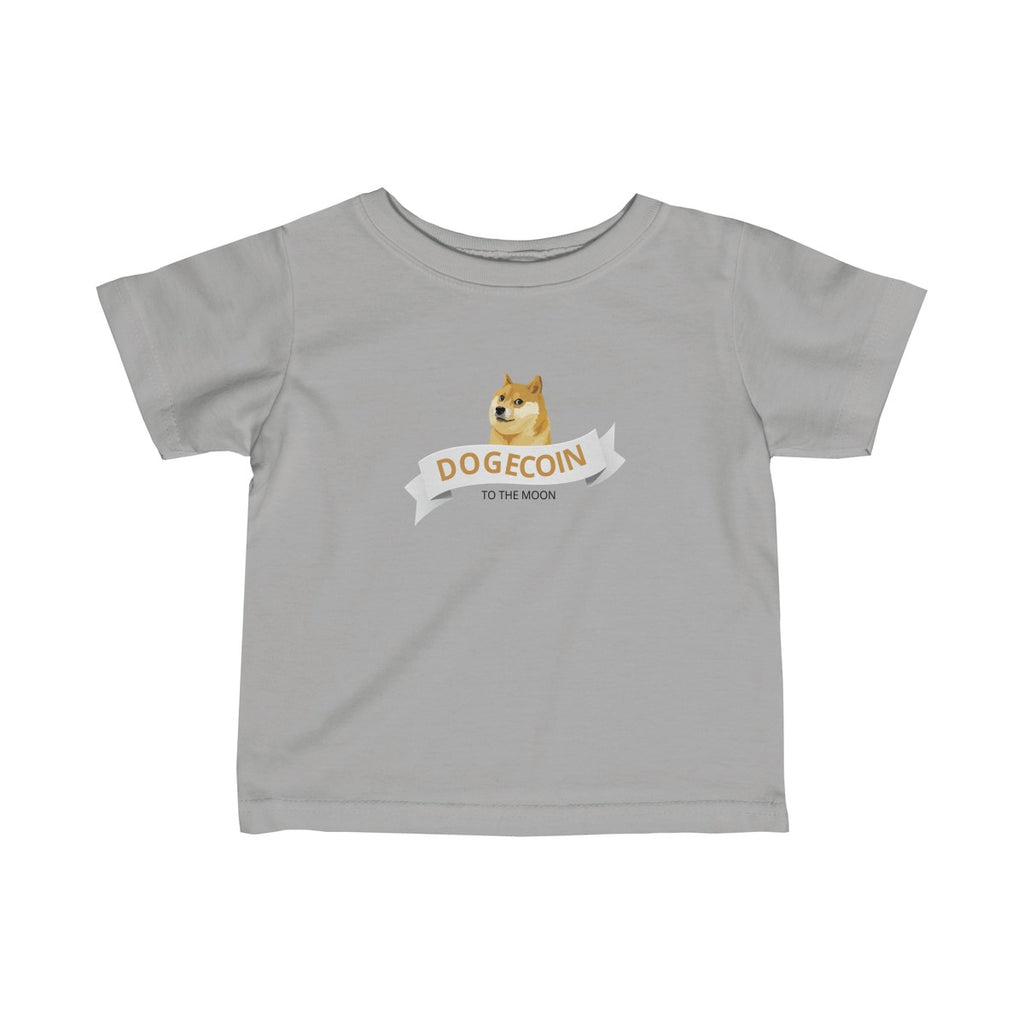 Dogecoin To The Moon Infant Tee