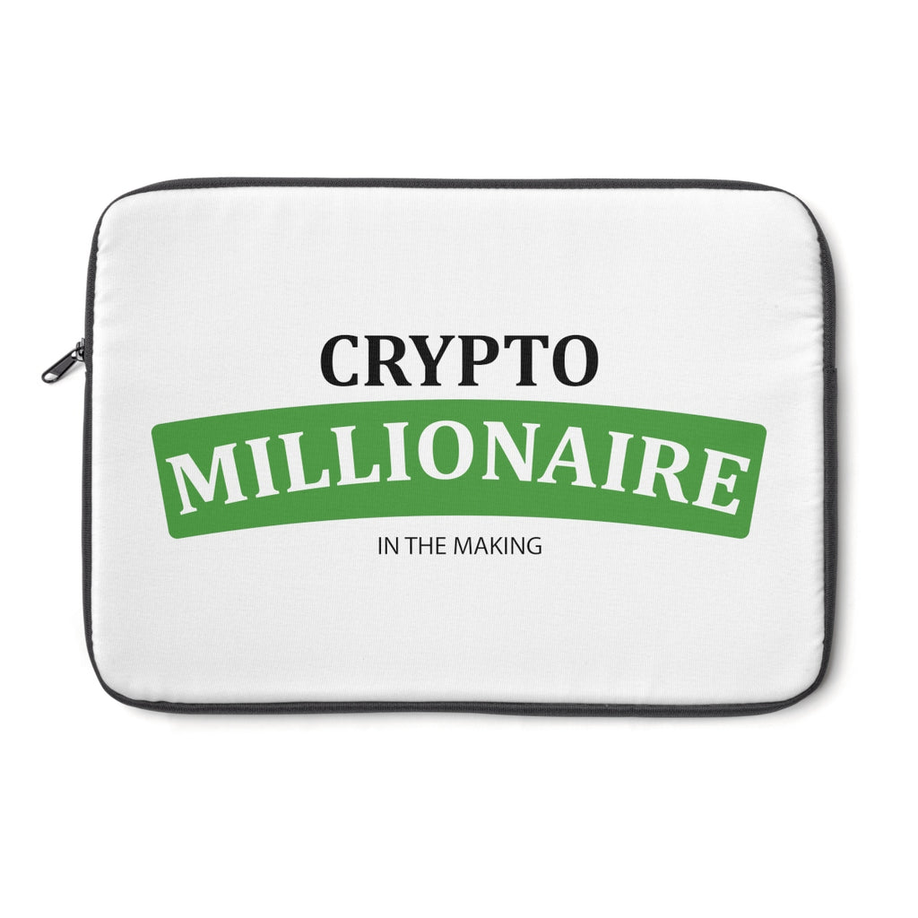 Crytpo Millionaire In The Making Laptop Sleeve