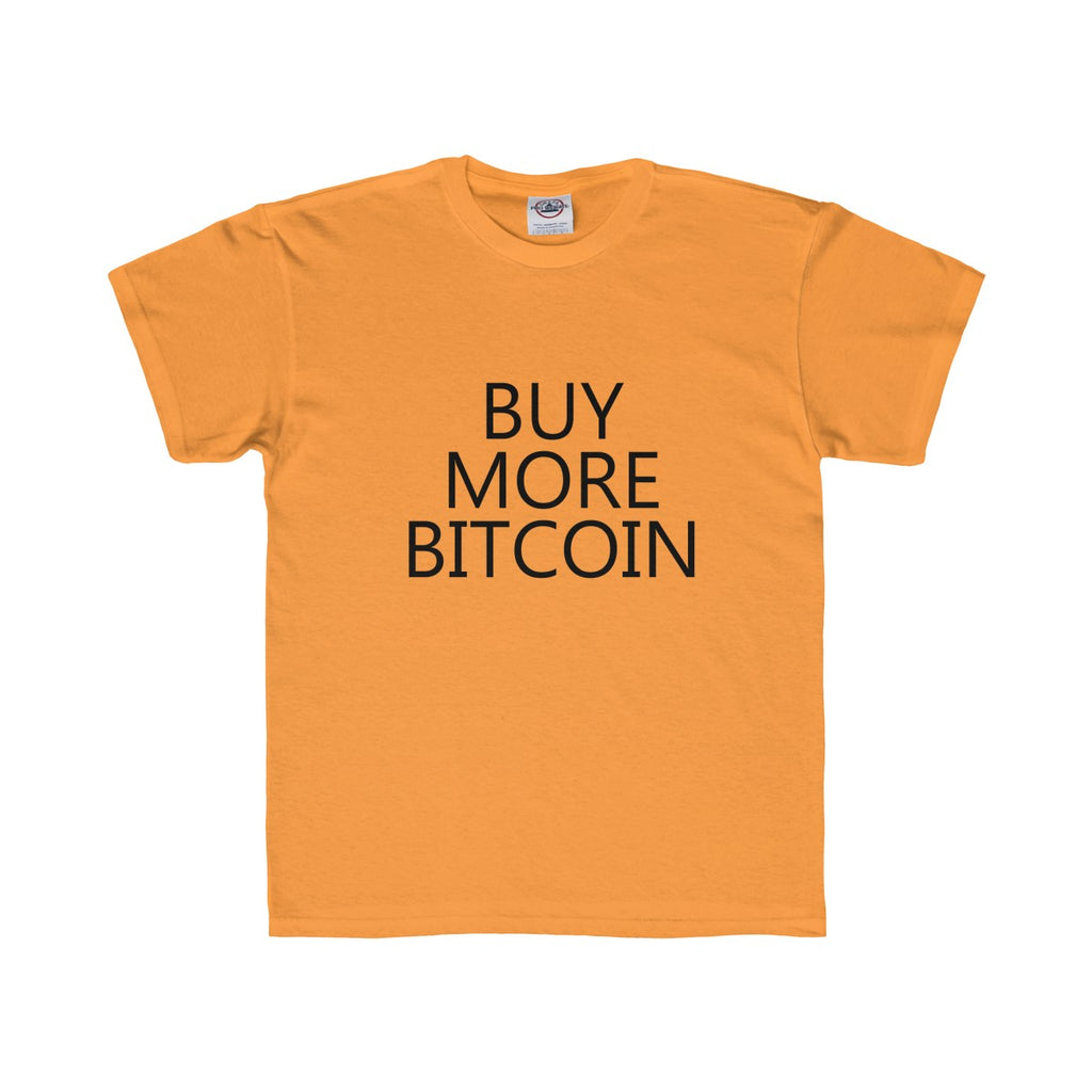 Buy More Bitcoin Youth Tee