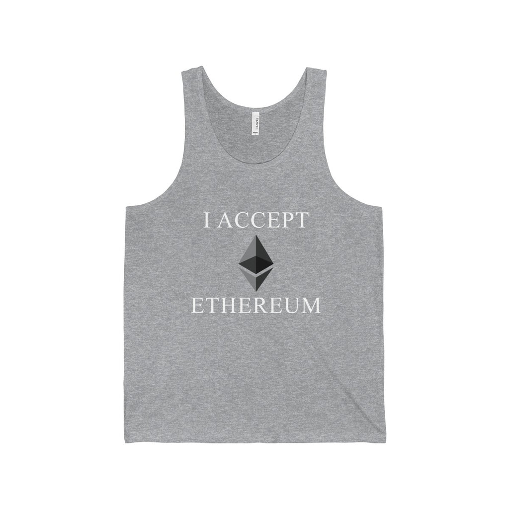 I Accept Ethereum Tank
