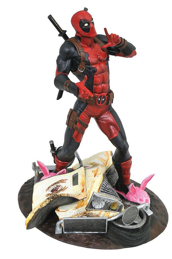 Marvel Gallery: Deadpool Taco Truck PVC Diorama Statue