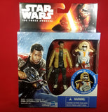 "Star Wars The Force Awakens 3.75"" Figure - Snow Mission Armor Finn Starkiller Base"