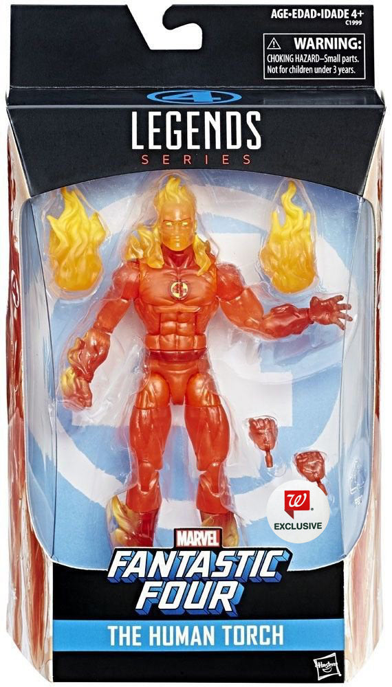 Marvel Legends Series Human Torch - Walgreens Exclusive