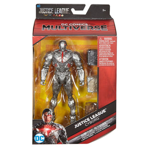 DC Comics Multiverse Justice League Cyborg Figure