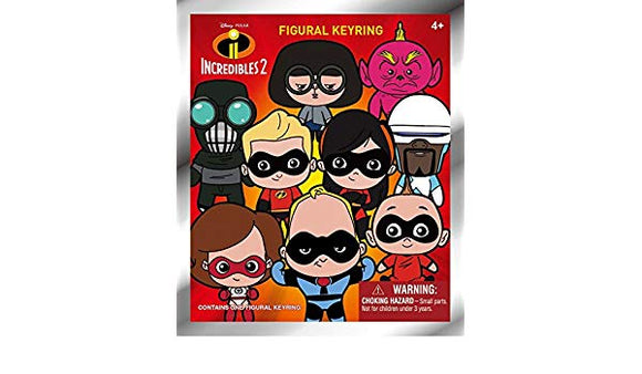 Disney / Pixar 3D Figural Keyring The Incredibles 2 Mystery Pack