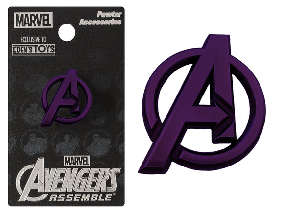 Avengers Logo Lapel Pin: LIMITED EDITION EDEN'S TOYS EXCLUSIVE