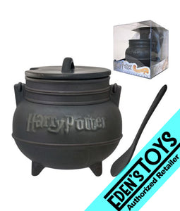 Harry Potter Black Cauldron Ceramic Soup Mug with Spoon