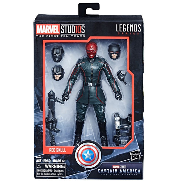 Marvel Legends Cinematic Universe 10th Anniversary Red Skull 6-Inch Action Figure (Pre-order Coming in August 2018)