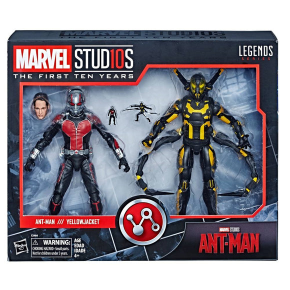 Marvel Legends Cinematic Universe 10th Anniversary Ant-Man and Yellowjacket 6-Inch Action Figure 2-Pack (Pre-order Coming in August 2018)
