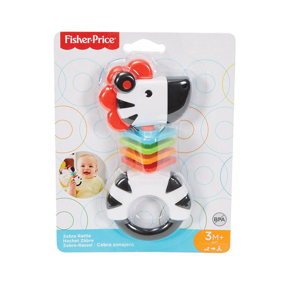Fisher Price Zebra Rattle