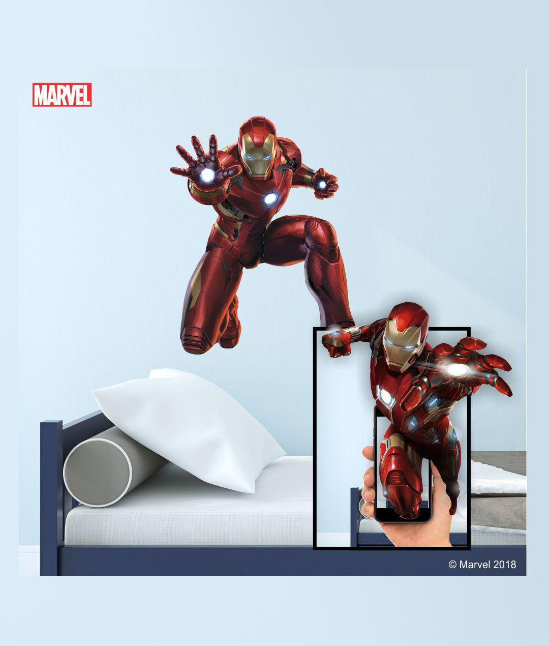 ... Augmented Reality Marvel 3D Wall Decals ...